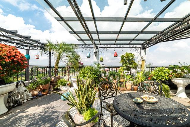 Căn nhà 5 tầng của vợ chồng Bát Tràng, thiết kế 3 ban công xanh nhưng vẫn đầu tư hẳn 400 triệu cho sân thượng 160m2  - Ảnh 28.