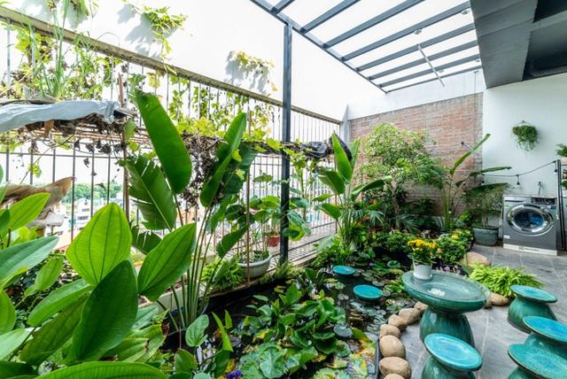 Căn nhà 5 tầng của vợ chồng Bát Tràng, thiết kế 3 ban công xanh nhưng vẫn đầu tư hẳn 400 triệu cho sân thượng 160m2  - Ảnh 31.