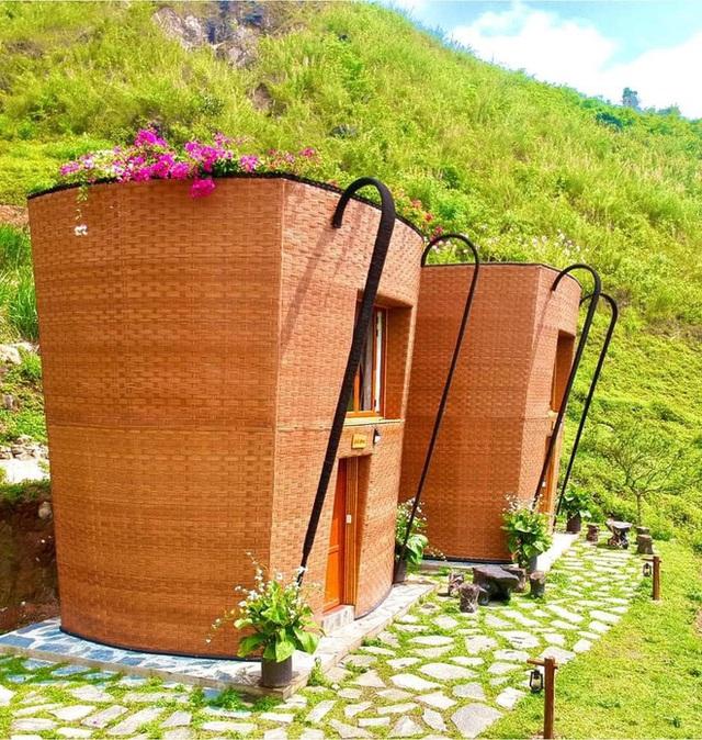 Hàng loạt ngôi nhà hình chiếc gùi độc đáo trên sườn núi Hà Giang, hóa ra từng đạt kỷ lục Việt Nam - Ảnh 5.