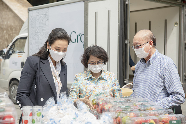 Vạn Thịnh Phát, LaviFood, ABC Bakery và Tập đoàn Grove chung tay ủng hộ tuyến đầu chống dịch - Ảnh 1.