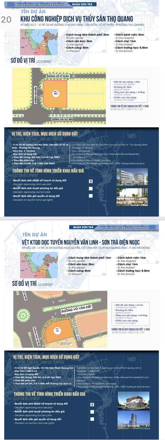 Sau sốt đất, Đà Nẵng bất ngờ công bố chi tiết 22 khu đất sạch kêu gọi đầu tư - Ảnh 10.