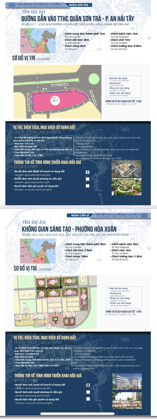 Sau sốt đất, Đà Nẵng bất ngờ công bố chi tiết 22 khu đất sạch kêu gọi đầu tư - Ảnh 4.