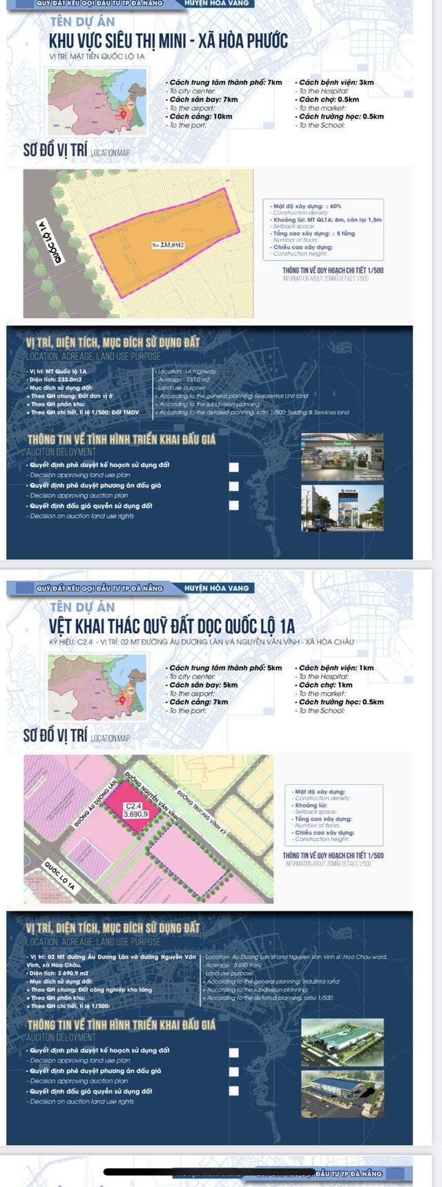 Sau sốt đất, Đà Nẵng bất ngờ công bố chi tiết 22 khu đất sạch kêu gọi đầu tư - Ảnh 7.