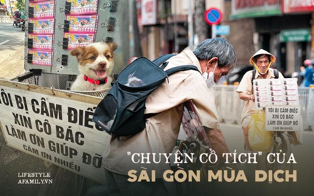 Cụ ông câm điếc cưu mang chú chó nhỏ, thà rong ruổi bán từng tờ vé số chứ không nhận 70 triệu khi người Sài Gòn dang tay giúp đỡ  - Ảnh 1.