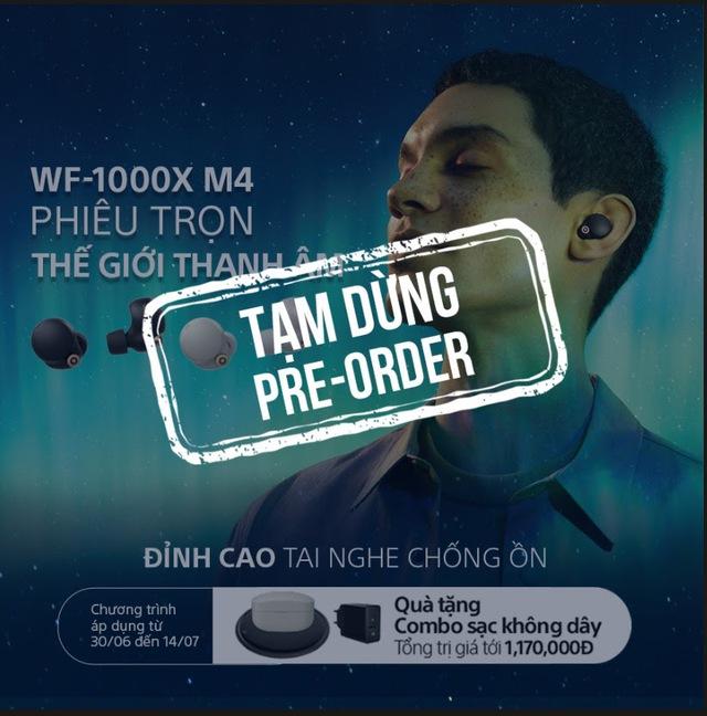 Covid-19 gây gián đoạn sản xuất, Sony phải dừng nhận đặt hàng tai nghe không dây WF-1000XM4, xin lỗi khách hàng Việt Nam - Ảnh 1.
