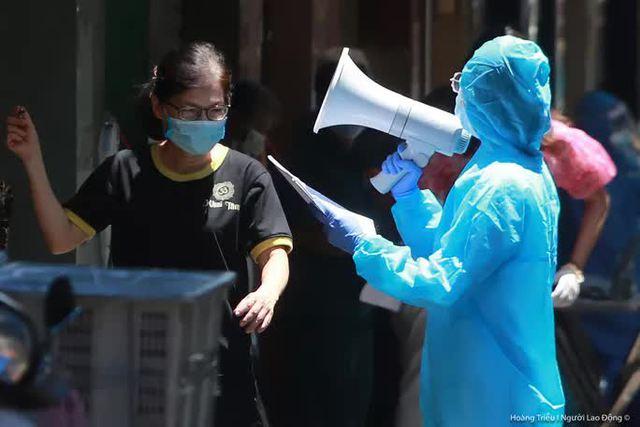 Hướng dẫn mới nhất của Bộ Y tế về cách ly F1, xét nghiệm cho người dân TP HCM  - Ảnh 1.