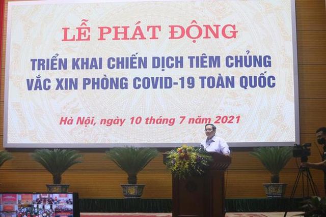 Thủ tướng Phạm Minh Chính: Chúng ta có niềm tin đẩy lùi dịch bệnh Covid-19  - Ảnh 1.