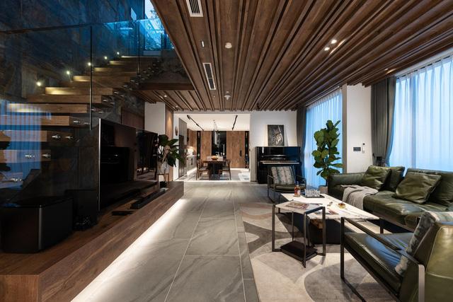 Vợ chồng trẻ thiết kế penthouse 300m2 đủ sân vườn, ao cá, hợp phong thủy trên tầng 30: Ngôi nhà đàng hoàng tức là không gian sống xanh, sạch, thoáng, phục vụ cho cuộc sống gia đình - Ảnh 6.