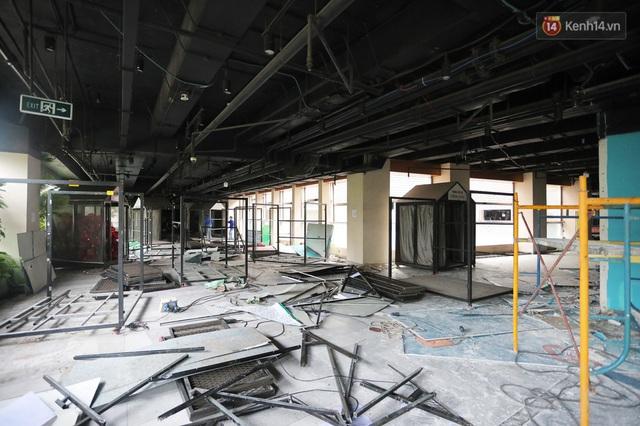 Toàn cảnh bên trong Thuận Kiều Plaza đang thi công chuyển đổi thành bệnh viện dã chiến 1.000 giường bệnh - Ảnh 15.
