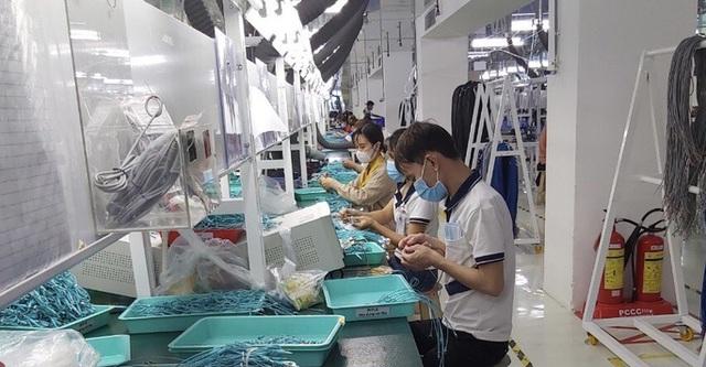 650 công nhân Công ty TNHH Ampacs International có kết quả âm tính lần 1  - Ảnh 1.