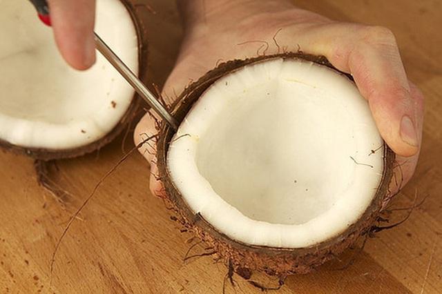 Có một phần trong trái dừa tốt cho tim mạch, giúp thăng hạng nhan sắc nhưng phụ nữ hay vứt đi  - Ảnh 3.
