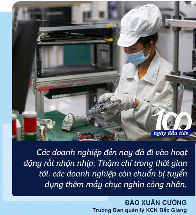'Kỳ tích' từ tâm dịch Bắc Giang: 'Hơn 10 ngày tạm dừng KCN không thể làm chuỗi cung ứng đứt gãy được' - Ảnh 2.
