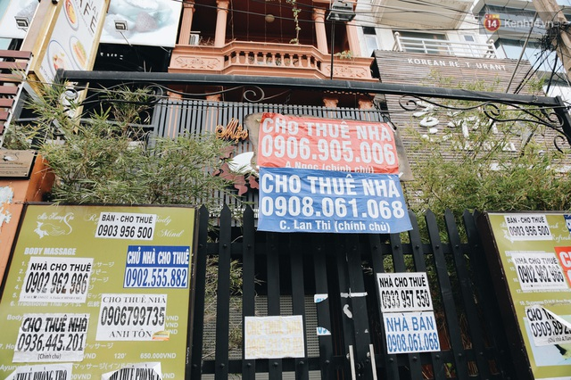"""Mặt bằng nhà phố trung tâm Sài Gòn """"kiệt sức"""" vì Covid-19: Chi chít bảng cho thuê nhưng chẳng ai ngó ngàng - Ảnh 9."""