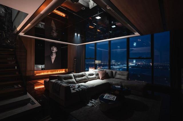 Penthouse 20 tỷ với gam màu đen huyền bí và sang trọng của 9X độc thân: Mạnh tay chốt đơn thiết kế lên tới 6 tỷ - Ảnh 4.