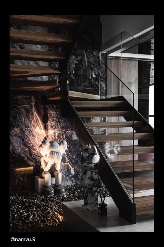 Penthouse 20 tỷ với gam màu đen huyền bí và sang trọng của 9X độc thân: Mạnh tay chốt đơn thiết kế lên tới 6 tỷ - Ảnh 11.