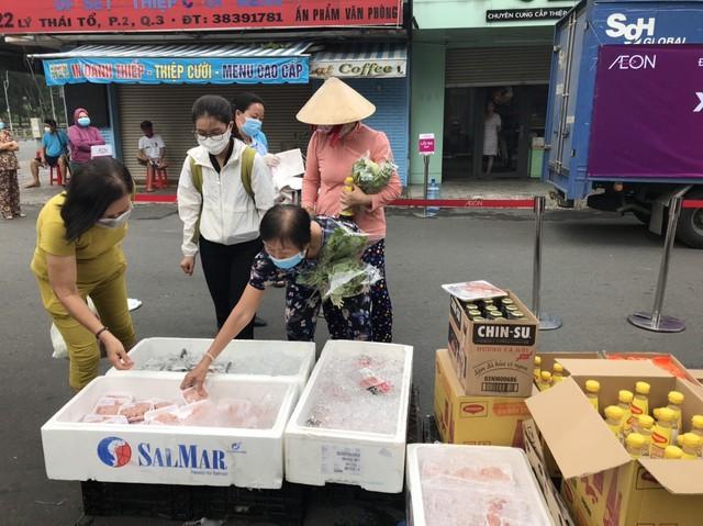 Hỗ trợ người dân Tp.HCM mua hàng thiết yếu: AEON Việt Nam triển khai siêu thị lưu động từ ngày 13/7 tại 4 điểm thuộc 3 quận - Ảnh 3.