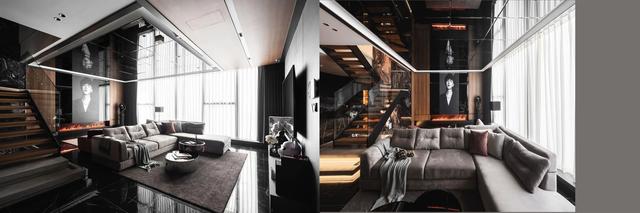 Penthouse 20 tỷ với gam màu đen huyền bí và sang trọng của 9X độc thân: Mạnh tay chốt đơn thiết kế lên tới 6 tỷ - Ảnh 5.