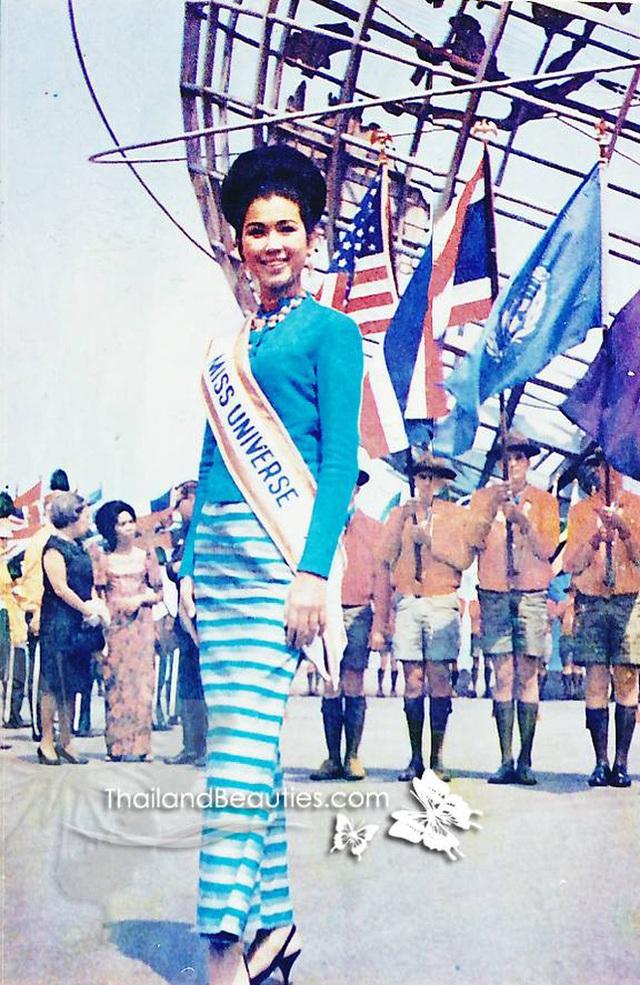 Đăng quang Hoa hậu Hoàn vũ Thế giới từ gần 60 năm trước, mỹ nhân nức tiếng châu Á một thời khiến công chúng sửng sốt với nhan sắc ở tuổi 74 - Ảnh 2.