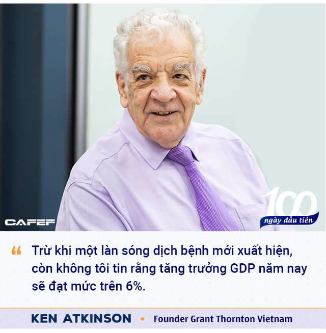 Founder Grant Thornton Vietnam: 'Việt Nam làm rất tốt ở giai đoạn đầu đại dịch, và sẽ đạt thành tích tương tự với vaccine!' - Ảnh 3.