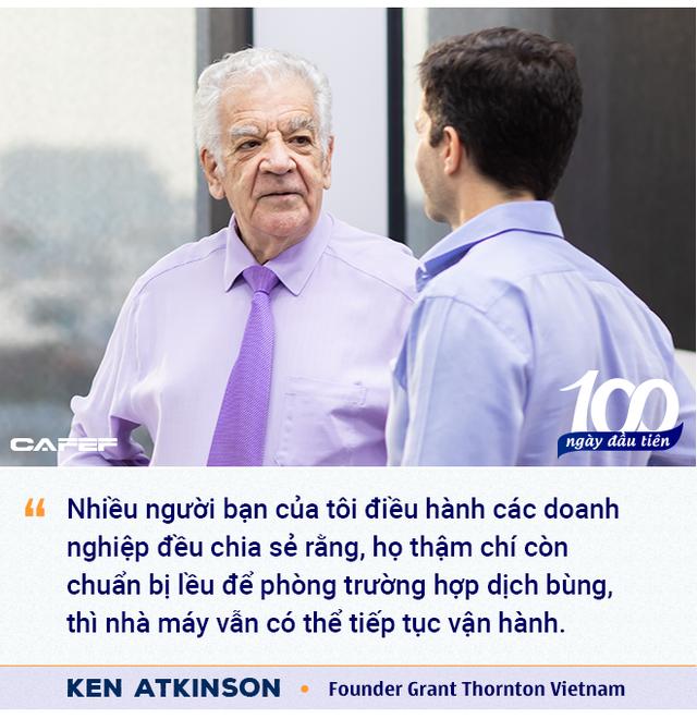 Founder Grant Thornton Vietnam: 'Việt Nam làm rất tốt ở giai đoạn đầu đại dịch, và sẽ đạt thành tích tương tự với vaccine!' - Ảnh 6.