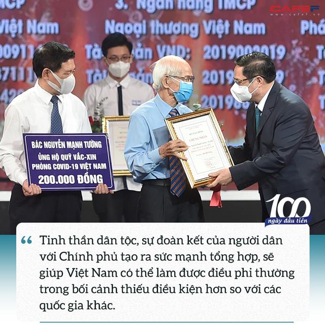 Khoảnh khắc xúc động của Thủ tướng và sức mạnh phía sau Quỹ vaccine phòng, chống Covid-19 - Ảnh 5.