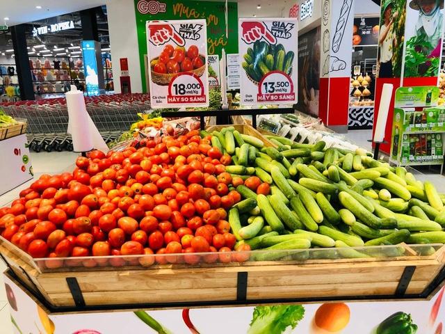 Nóng chuyện giá cả thực phẩm giữa tâm dịch Tp.HCM: Hệ thống siêu thị GO!, Big C, Tops Market Co.op Food cam kết giữ vững bình ổn giá - Ảnh 1.