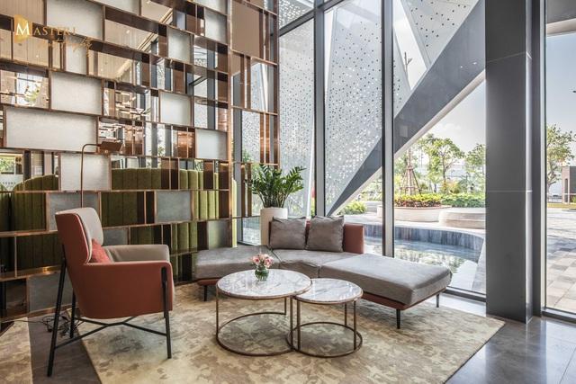 Chiêm ngưỡng thiết kế đẳng cấp tại nhà mẫu Masteri West Heights - Ảnh 1.