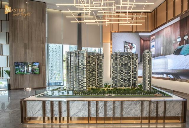 Chiêm ngưỡng thiết kế đẳng cấp tại nhà mẫu Masteri West Heights - Ảnh 2.