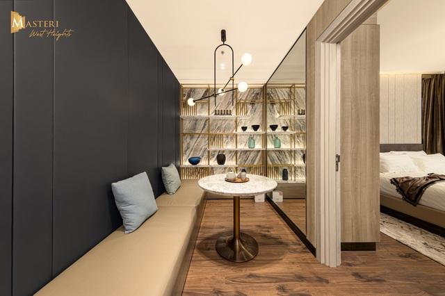 Chiêm ngưỡng thiết kế đẳng cấp tại nhà mẫu Masteri West Heights - Ảnh 8.