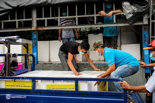 Ảnh, clip: Người Sài Gòn vui hết nấc khi tận tay nhận cá cứu trợ từ bà con miền Tây - Ảnh 2.