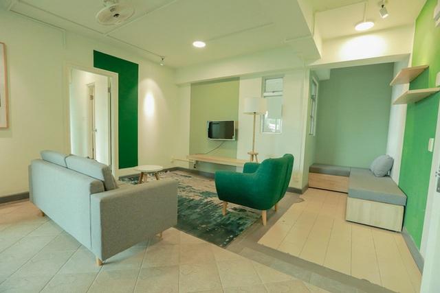 Căn hộ mẫu ở Thuận Kiều Plaza được trưng dụng làm nơi nghỉ cho bác sĩ, nhân viên y tế  - Ảnh 5.