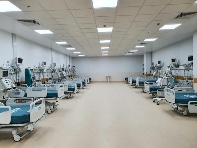 Ảnh: Bên trong Trung tâm Hồi sức Covid-19 với 1.000 giường, chuyên trị những ca bệnh nguy kịch tại TP.HCM - Ảnh 6.