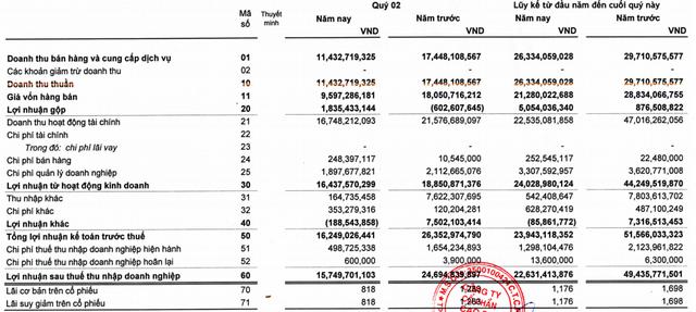 Không còn thu lãi đậm từ thanh lý cao su và cổ tức được chia, Cao su Thống Nhất (TNC) báo lãi nửa đầu năm 2021 sụt giảm 54% so với cùng kỳ - Ảnh 1.