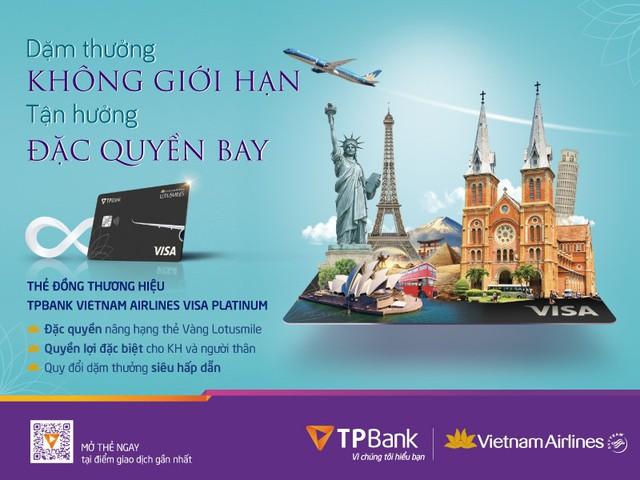 TPBank bắt tay Vietnam Airlines ra mắt dòng thẻ mới với tiện ích vượt trội - Ảnh 1.