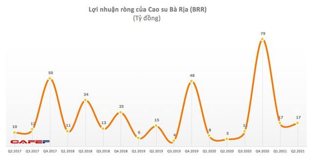 Cao su Bà Rịa (BRR): Quý 2 lãi 17 tỷ đồng cao gấp 3 lần cùng kỳ - Ảnh 1.