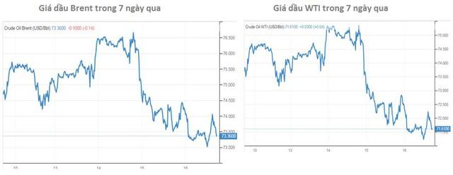Giá dầu tuần này giảm mạnh nhất trong vòng nhiều tháng, triển vọng tuần tới thế nào? - Ảnh 1.