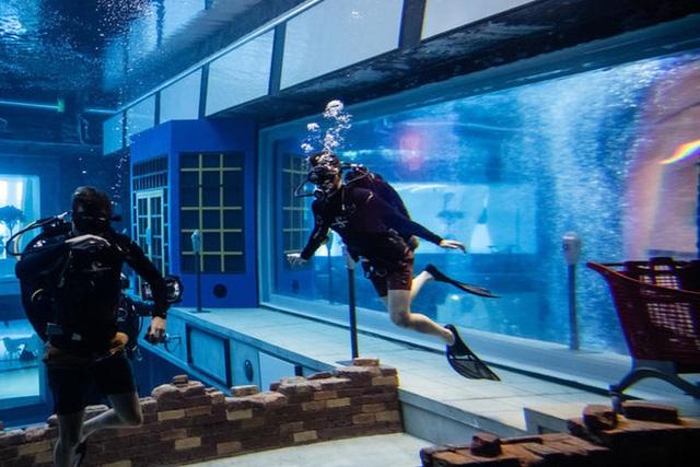 Sử dụng 14 triệu lít nước, Dubai đã xây dựng được hồ bơi sâu nhất thế giới và tái hiện lại lục địa Atlantis đã mất - Ảnh 5.