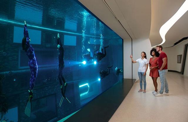 Sử dụng 14 triệu lít nước, Dubai đã xây dựng được hồ bơi sâu nhất thế giới và tái hiện lại lục địa Atlantis đã mất - Ảnh 8.