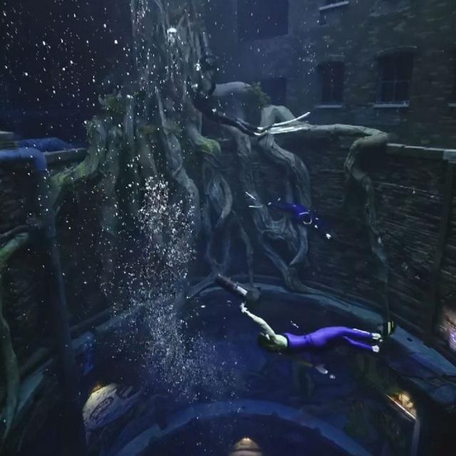Sử dụng 14 triệu lít nước, Dubai đã xây dựng được hồ bơi sâu nhất thế giới và tái hiện lại lục địa Atlantis đã mất - Ảnh 10.
