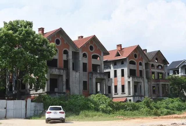 Cận cảnh dự án từng bị Thanh tra Chính phủ sờ gáy, hàng loạt biệt thự vẫn bỏ hoang - Ảnh 12.