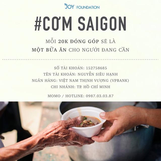 Khi cả nước hướng về Sài Gòn: Những lời kêu gọi, những quỹ từ thiện và chiến dịch tử tế ra đời để tiếp sức thành phố vượt qua dịch bệnh - Ảnh 4.