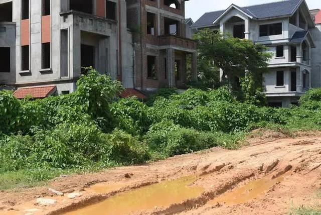 Cận cảnh dự án từng bị Thanh tra Chính phủ sờ gáy, hàng loạt biệt thự vẫn bỏ hoang - Ảnh 10.