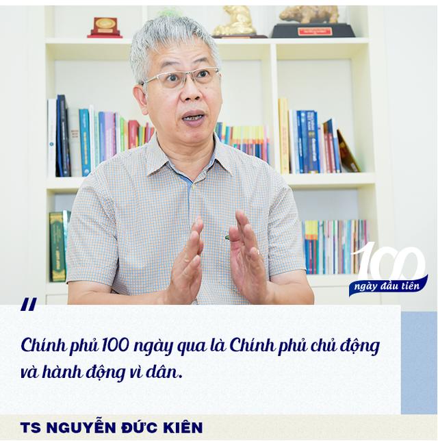 TS Nguyễn Đức Kiên chỉ ra điểm chung đặc biệt trong mọi hành động của Chính phủ trong 100 ngày đầu tiên - Ảnh 3.