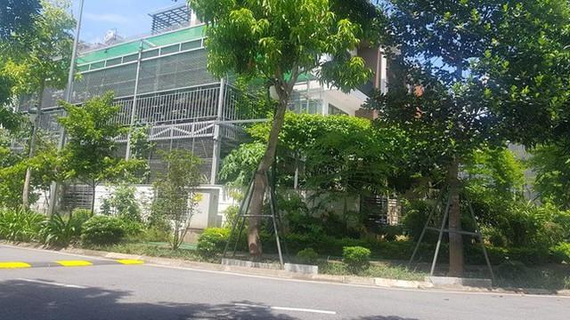 Cận cảnh biệt thự nhà giàu cơi nới phá vỡ quy hoạch trong khu đô thị ở Hà Nội - Ảnh 2.