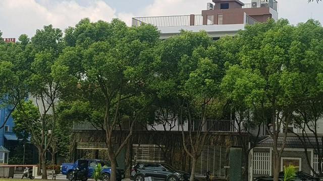Cận cảnh biệt thự nhà giàu cơi nới phá vỡ quy hoạch trong khu đô thị ở Hà Nội - Ảnh 8.