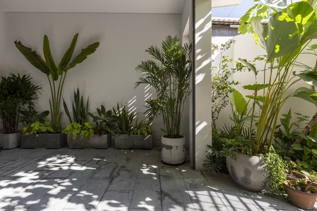 Ngôi nhà 40 tuổi trong ngõ nhỏ lột xác hoàn toàn sau cải tạo: Không gian thoáng, tràn ánh sáng, vừa gần gũi với thiên nhiên vừa đảm bảo riêng tư cho gia đình 3 thế hệ - Ảnh 9.