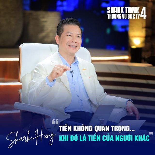 Một câu nói của Tiến sỹ du học tại Mỹ kinh doanh đồ hiệu second-hand khiến Shark Bình nhận định đây là sai lầm chết người, Shark Hưng bảo thế thì quá nguy hiểm - Ảnh 2.