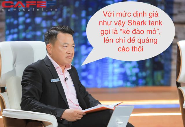 Startup chấm công bằng GPS và nhận diện khuôn mặt định giá 5 triệu USD, không chịu nhượng bộ Shark Bình khiến Shark gọi là kẻ đào mỏ trên Shark Tank - Ảnh 1.