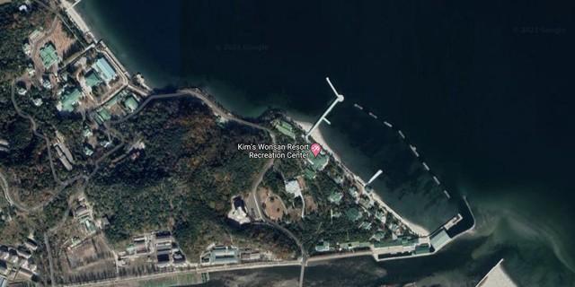 Ảnh vệ tinh phát hiện siêu du thuyền của ông Kim Jong-Un - Ảnh 2.