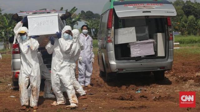Ca tử vong do Covid-19 ở Indonesia tăng kỷ lục, số bác sĩ chết tăng 100%  - Ảnh 1.